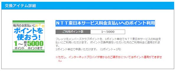 NTT東日本ポイント