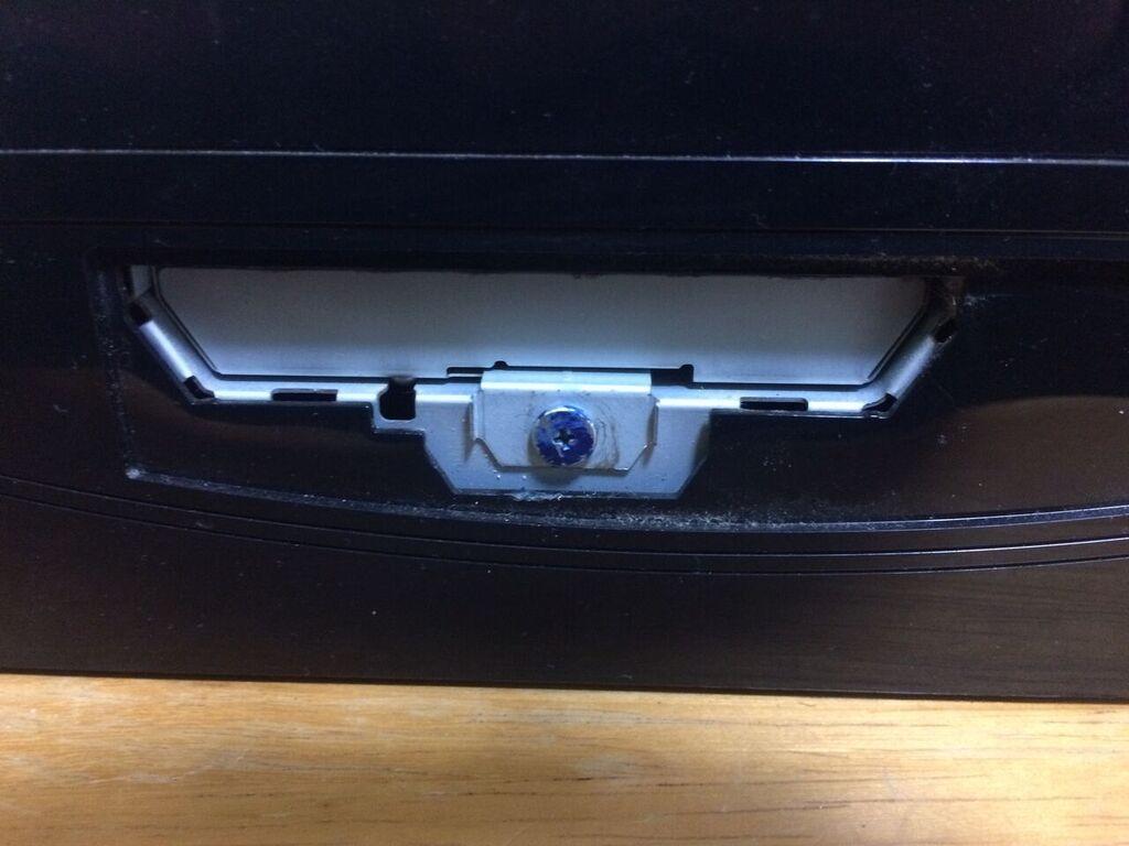 PS3内部にあるハードディスク